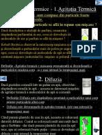 Agitatia Termica Dufuzia Si Caldura Fizica Clasa a8a Nr1