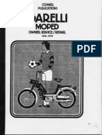 Reparatursanleitung Garelli Eureka - Sport Moped 50 Ccm Englisch