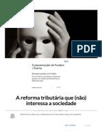 A reforma tributária que (não) interessa a sociedade .pdf