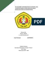 Aplikasi Geographic Information Systems