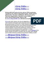 Betpas 262 Giriş - Betpas262 Yeni Adresi - Betpas262.com
