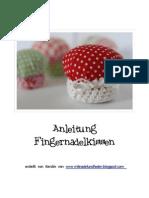Anleitung Fingernadelkissen