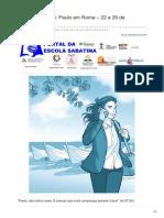 Escolasabatina.com.Br-Jovens Lição 13 Paulo Em Roma 22 a 29 de Setembro 2018