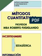 2018- Utn San Fco -Posgrado - Metodos Cuantitativos - Estadística
