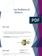 DefeDEFECTS IN EXTRUSION in Extrusion Process