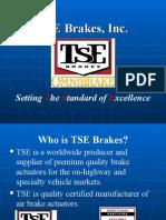 TSE Brakes Overview 2008