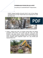 Mekanisme pemindahan Pokok Kelapa Sawit