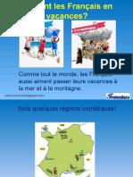 Les Vacances Des Francais