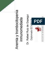 Wsava Anemia y Trombocitopenia Inmunomediadas