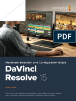 DaVinci Resolve 15 Configuration Guide