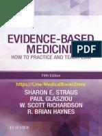 Evidence Based Medicine EBM 5e Straus 2019