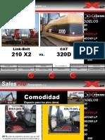 210X2 vs Cat320D