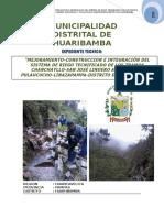 Memoria Descriptiva Canal Huaribamba