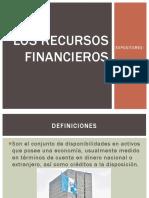 Los Recursos Financieros