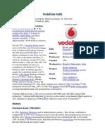 2 Vodafone India