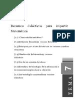 Tema3 El Proceso de Enseñar y Aprender en Matematica