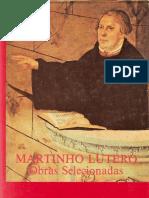 8. Obras Selecionadas de Lutero - Interpretação Biblica, Principios