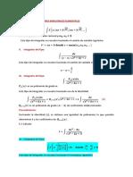 Integración de Funciones Irracionales Elementales