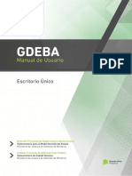 GDEBA - Manual Escritorio Único