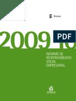 Ercros Informe Rse 2009 2010