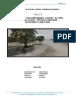 Inventario Vial El Marco El Verde
