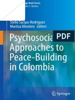 (Peace Psychology Book Series 25) Stella Sacipa-Rodriguez, Maritza Montero (Eds.)-Psychosocial Approaches to Peace-Building in Colombia-Springer International Publishing (2014)