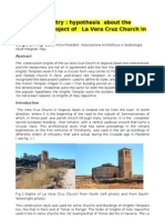 Article-Sacred Geometry-Hypothesis About the Modality of Project of La Vera Cruz Church in Segovia Spain