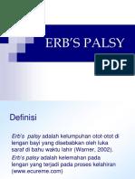 ERB'S PALSY.ppt