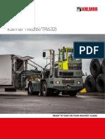 Kalmar TR626i-TR632i Terminal Tractor Brochure