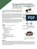 Transistor de Efecto de Campo Metal-óxido-semiconductor