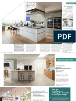 Emma Hedges, Super Kitchens Feature, EK&BBusiness, issue 151