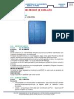 01 Especificaciones Técnica de Mobiliario
