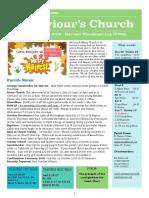 st saviours newsletter - 30 september 2018