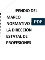 COMPENDIO DEL MARCO NORMATIVO DE LA DIRECCIÓN DE PROFESIONES.pdf