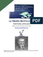 La Terapia Provocativa- Frank Farrelly y J. Bransdma