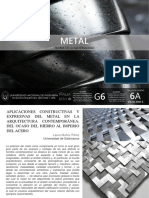 t6a g6 Materialidad Metal