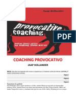 Coaching Provocativo- Jaap Hollander