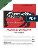 Coaching Provocativo- Jaap Hollander