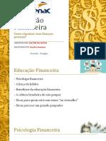 Educação Financeira - Curso de Oratória