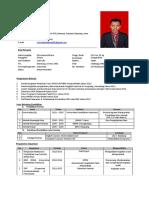 CV Mochamad Dhera