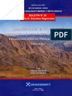 Boletin de rocas igneas al sur del Perú