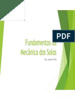 Mecanica Dos Solos i - Unid 01.1