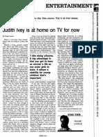 Judith Ivey interview