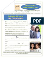 Stewardship Banquet 2018 Flyer