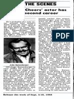 John Ratzenberger interview