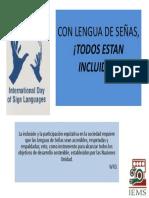 Día Internacional de las Lenguas