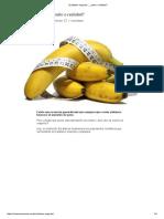 El Plátano Engorda… ¿Mito o Realidad