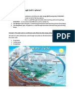 cycling of matter through earth notes
