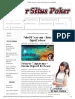 Poker99 Terpercaya - Bonus Deposit Terbesar _ Freechip Gratis