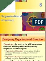 3 Managing Organisational Structure